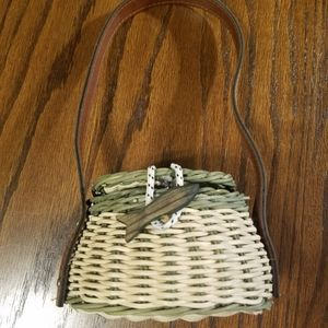 Boyd's Bear Fishing Basket Woven